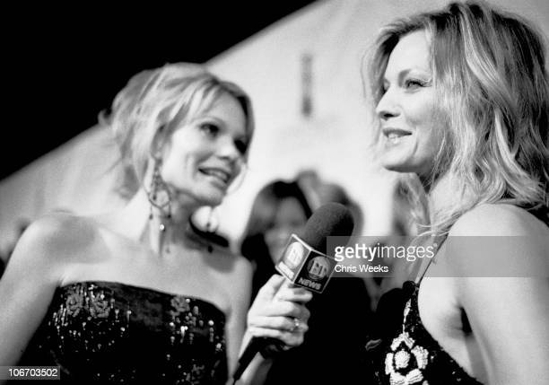 Michelle Pfeiffer during Giorgio Armani Receives First 'Rodeo Drive Walk Of Style' Award Black White Photography by Chris Weeks at Rodeo Drive in...