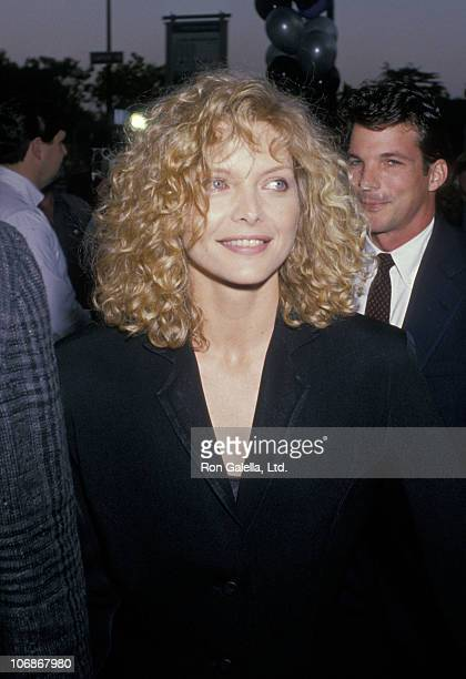 Michelle Pfeiffer during 'Married to the Mob' Beverly Hills Premiere at Academy Theater in Beverly Hills California United States