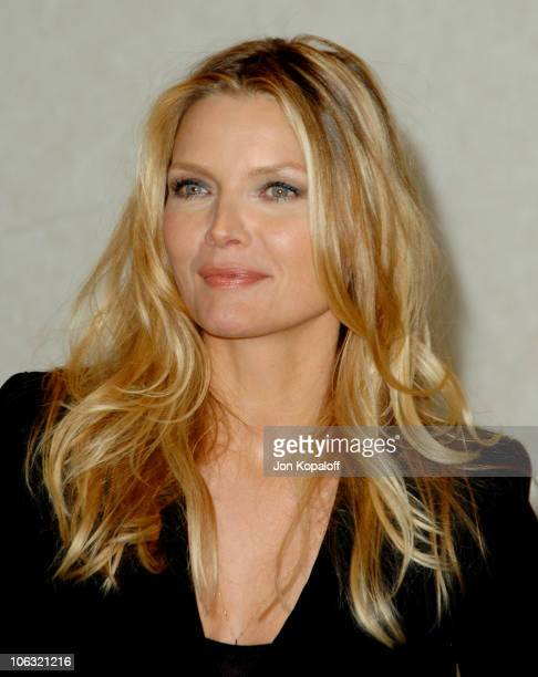 Michelle Pfeiffer during ShoWest 2007 'Hairspray' Photo Call at Paris Hotel in Las Vegas Nevada United States