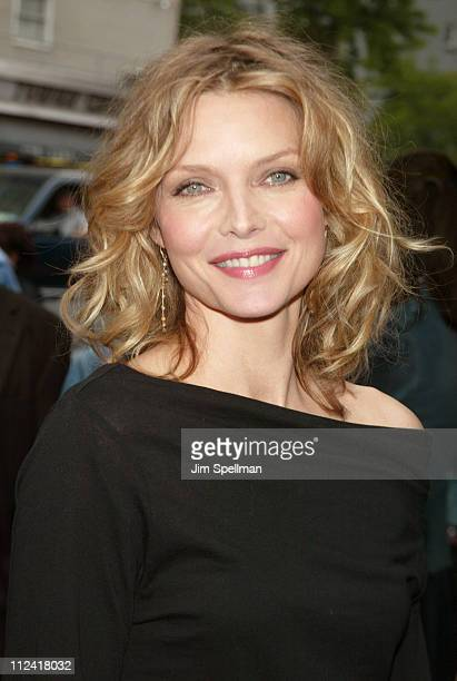 Michelle Pfeiffer during 'Sinbad Legend of the Seven Seas' New York Screening Outside Arrivals at Beekman Theatre in New York City New York United...