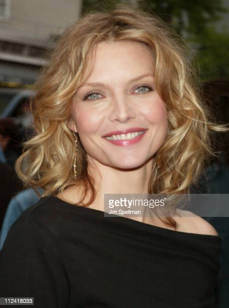 Michelle Pfeiffer during Sinbad Legend of the Seven Seas New York Screening Outside Arrivals at Beekman Theatre in New York City New York United...