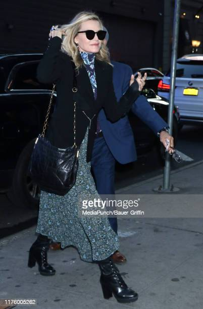 Michelle Pfeiffer is seen on October 15 2019 in New York City