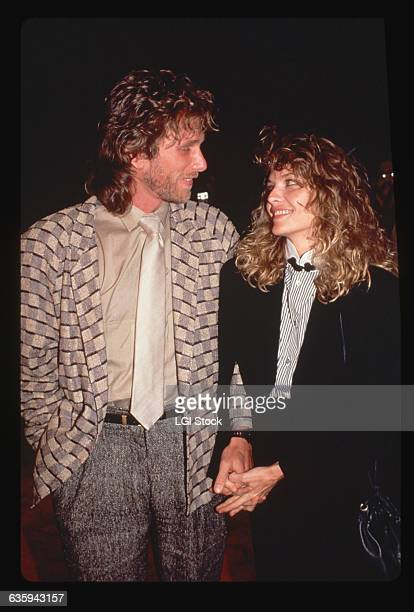 Michelle Pfeiffer with Peter Horton
