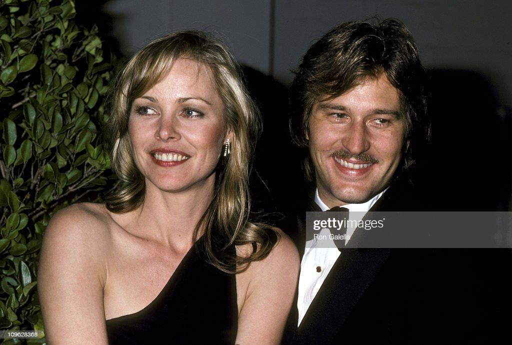 Michelle Phillips and Husband Robert Birch during 22nd Annual GRAMMY Awards - Warner Bros. After Party at Chasen's Restaurant in Beverly Hills, California, United States.