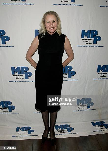 Michelle Phillips arrives at the Marijuana Policy Project's A Night of Music and Comedy on May 14 2008 at the Highline Ballroom in New York City