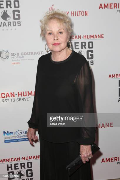 Michelle Phillips at the 7th Annual American Humane Association Hero Dog Awards at The Beverly Hilton Hotel on September 16 2017 in Beverly Hills...
