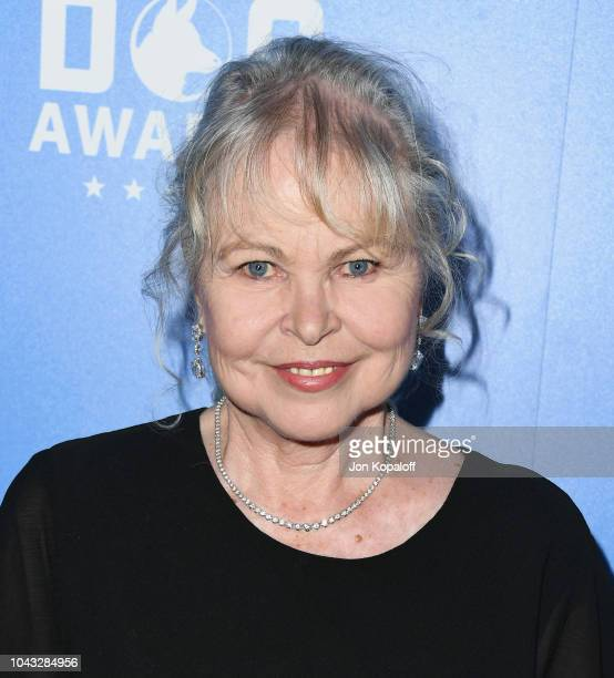 Michelle Phillips attends American Humane's 2018 American Humane Hero Dog Awards at The Beverly Hilton Hotel on September 29 2018 in Beverly Hills...