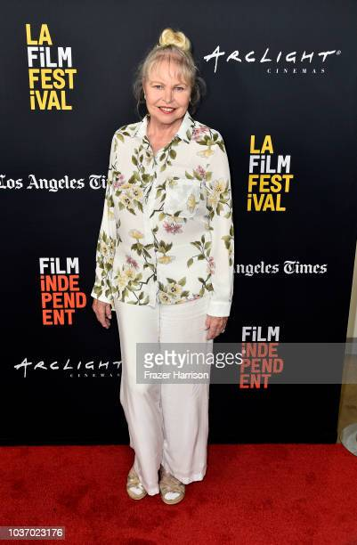 Michelle Phillips attends the 2018 LA Film Festival Opening Night Premiere Of 'Echo In The Canyon' at John Anson Ford Amphitheatre on September 20...