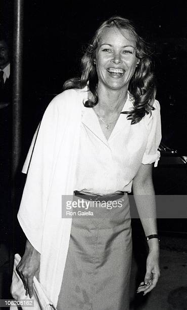 Michelle Phillips during Jackie Bissett's Birthday Party September 13 1979 at Flippers Roller Disco in Los Angeles California United States
