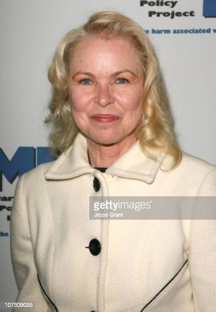 Michelle Phillips during Marijuana Policy Project Celebrity Fundraiser at the Playboy Mansion in Beverly Hills March 30 2006 at Playboy Mansion in...