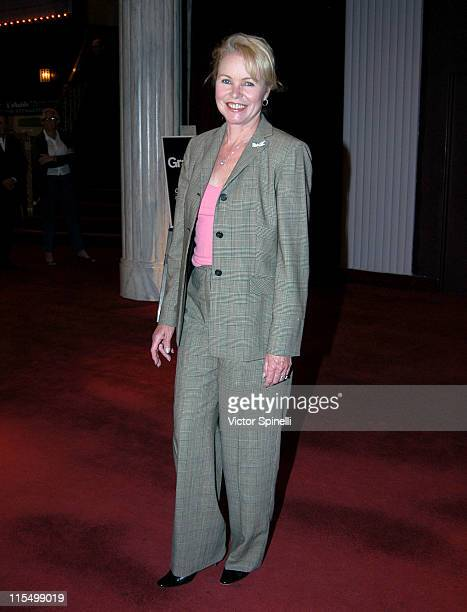Michelle Phillips during Opening Night of 'The Graduate' Los Angeles at Whilshire Theatre in Beverly Hills California United States