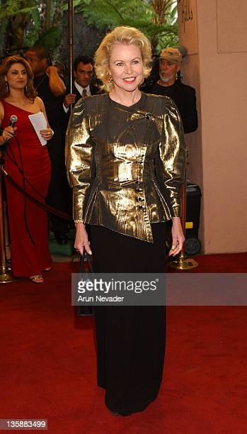 Michelle Phillips during The 14th Annual Night of 100 Stars Oscar Gala at Beverly Hills Hotel in Beverly Hills California United States