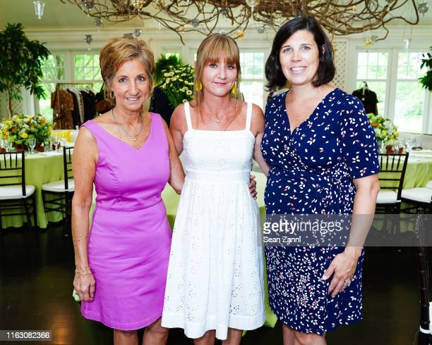 Michelle Phillips Lisa Aery and Kelly Teglas attend Michael Kors Shopping Event Benefitting Race Of Hope on July 19 2019 in Southampton New York