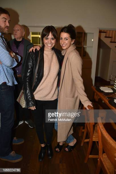 Michelle Randolph and Jamie Braverman attend Hearst Castle Preservation Foundation Associate Trustees' Dinner at Hearst Castle on September 27 2018...