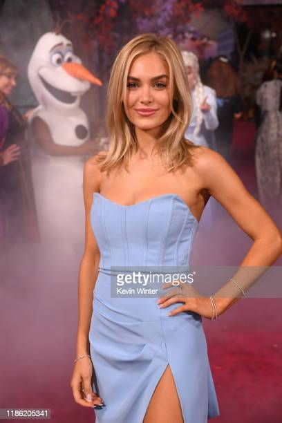 Michelle Randolph attends the premiere of Disney's Frozen 2 at Dolby Theatre on November 07 2019 in Hollywood California