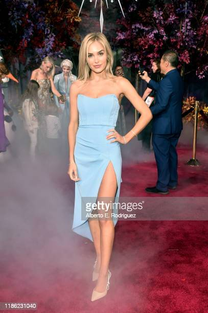 Michelle Randolph attends the world premiere of Disney's Frozen 2 at Hollywood's Dolby Theatre on Thursday November 7 2019 in Hollywood California