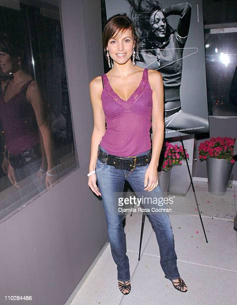 Michelle Ray Smith during W Magazine Celebrates the Launch of the 2006 Speedo Ad Campaign at Gansevoort Hotel in New York, New York.
