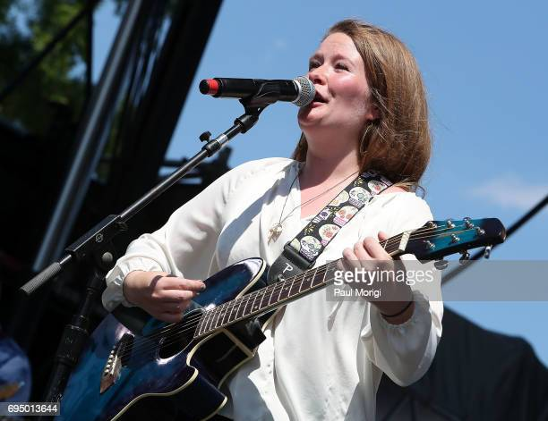 Michelle Raymond of The Michelle Raymond Band performs at the 2017 Capital Pride Concert on June 11 2017 in Washington DC