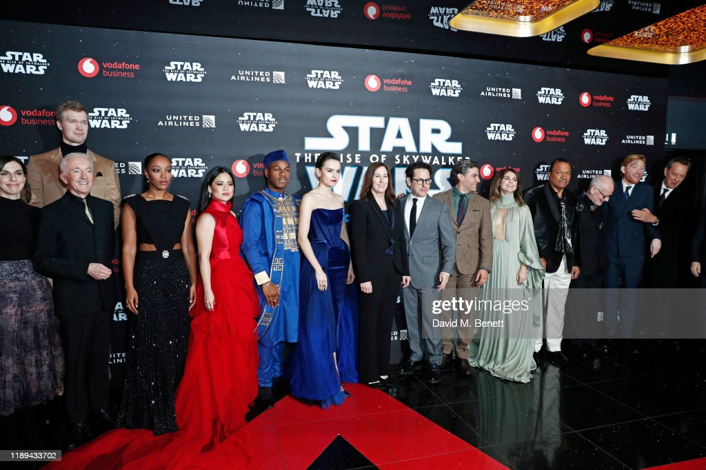"""Star Wars: The Rise of Skywalker"" - European Premiere - VIP Arrivals : News Photo"