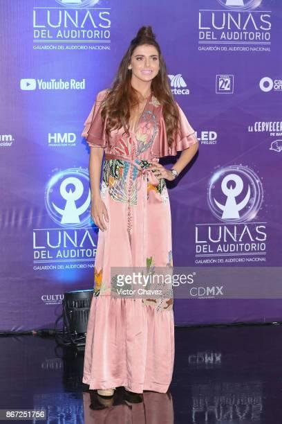 Michelle Renaud attends Las Lunas del Auditorio Nacional 2017 at Auditorio Nacional on October 25 2017 in Mexico City Mexico