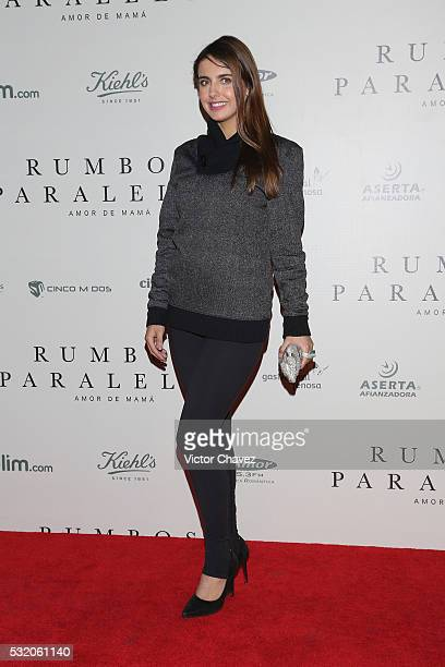 Michelle Renaud attends 'Rumbos Paralelos' premiere at Cinepolis Oasis Coyoacan on May 17 2016 in Mexico City Mexico