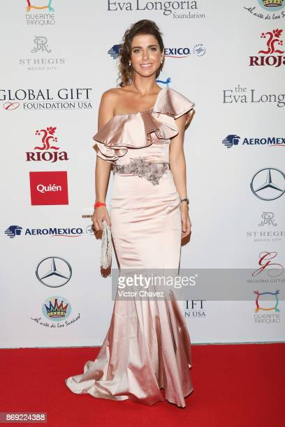Michelle Renaud attends The Global Gift Gala Mexico 2017 at St Regis Hotel on November 1 2017 in Mexico City Mexico