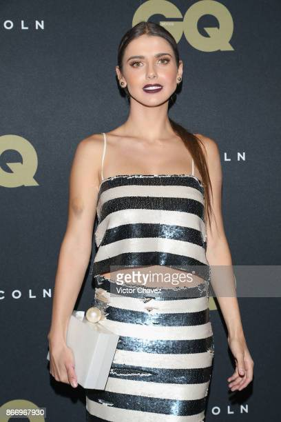 Michelle Renaud attends the GQ Mexico Men of The Year Awards 2017 on October 26 2017 in Mexico City Mexico