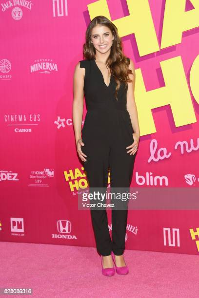 Michelle Renaud attends the 'Hazlo Como Hombre' Mexico City premiere at Cinepolis Oasis Coyoacan on August 8 2017 in Mexico City Mexico