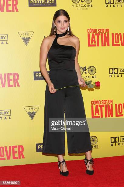 Michelle Renaud attends the 'How To Be A Latin Lover' Mexico City premiere at Teatro Metropolitan on May 3 2017 in Mexico City Mexico