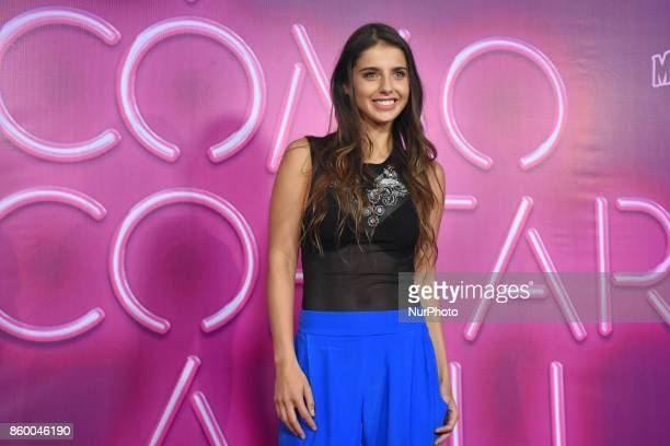 Michelle Renaud is seen attending at red carpet of 'Como Cortar a tu Patan' film premiere on October 10 2017 in Mexico City Mexico
