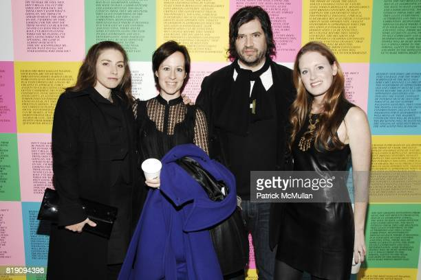 Michelle Reyes Landers Andrea Scott Sean Landers and Bettina Prentice attend HAUNCH OF VENISON 'Your History is Not Our History' Opening Night at...