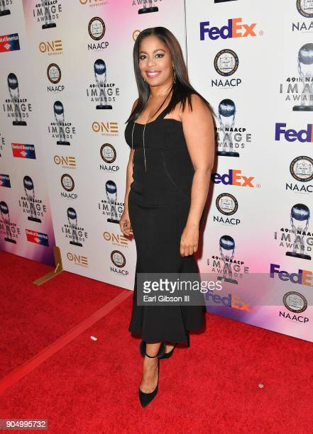 Michelle Rice at the 49th NAACP Image Awards NonTelevised Awards Dinner at the Pasadena Conference Center on January 14 2018 in Pasadena California
