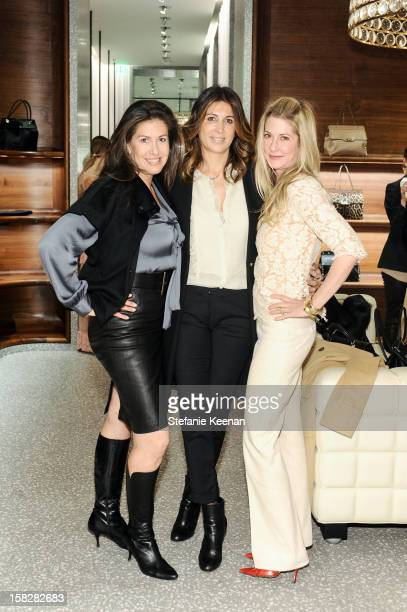 Michelle Richman Nathalie Marciano and Kelly Styne attend Valentino Hosts Resort 2013 Luncheon With Quinn Ezralow And Jennifer Hale at Valentino...