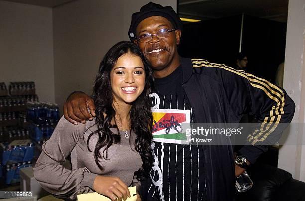Michelle Rodriguez and Samuel L Jackson **Exclusive**