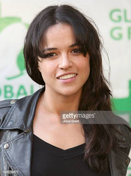 Michelle Rodriguez arrives at Global Green USA's 14th Annual Millennium Awards at the Fairmont Miramar Hotel on June 12 2010 in Santa Monica...