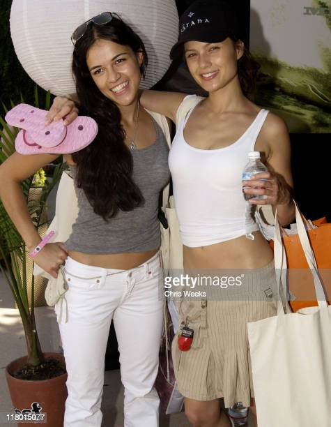 Michelle Rodriguez at Reef during The Silver Spoon Beauty Buffet Sponsored By Allure Day Two at Private Residence in Los Angeles California United...
