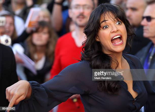 Michelle Rodriguez attends Fast Furious 4 Photocall at Lomme Kinepolis on March 18 2009 in Lille France