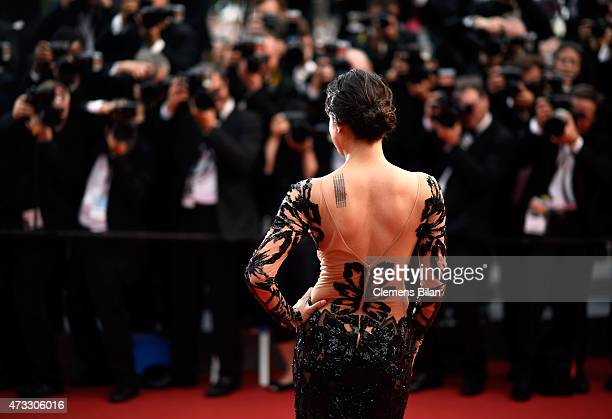 Michelle Rodriguez attends Premiere of 'Mad Max Fury Road' during the 68th annual Cannes Film Festival on May 14 2015 in Cannes France