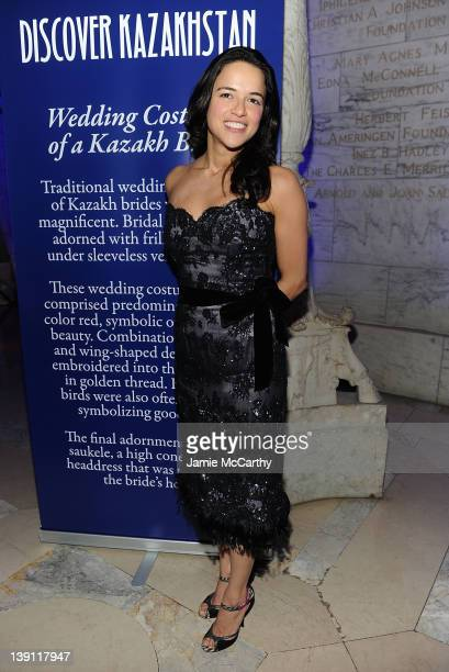 Michelle Rodriguez attends the 2012 Nomad's Way gala to benefit The Alem Program at The New York Public Library on February 16 2012 in New York City