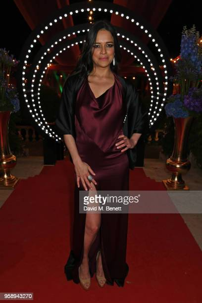 Michelle Rodriguez attends the de Grisogono party during the 71st annual Cannes Film Festival at Villa des Oliviers on May 15 2018 in Cap d'Antibes...