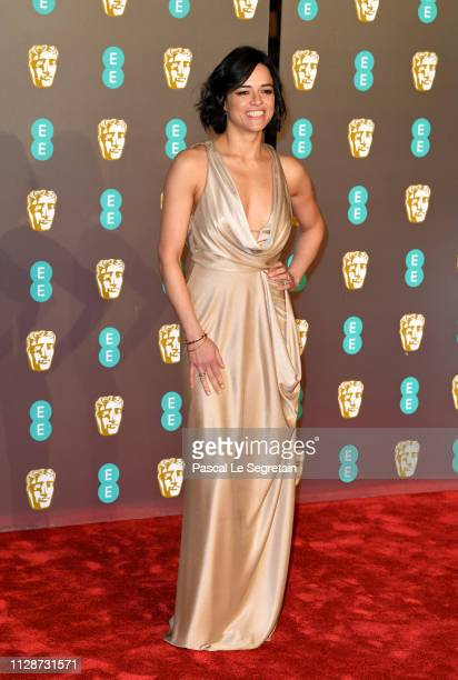 Michelle Rodriguez attends the EE British Academy Film Awards at Royal Albert Hall on February 10 2019 in London England