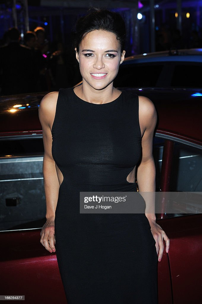 Michelle Rodriguez attends the world premiere after party of 'Fast And Furious 6' at Somerset House on May 7, 2013 in London, England.