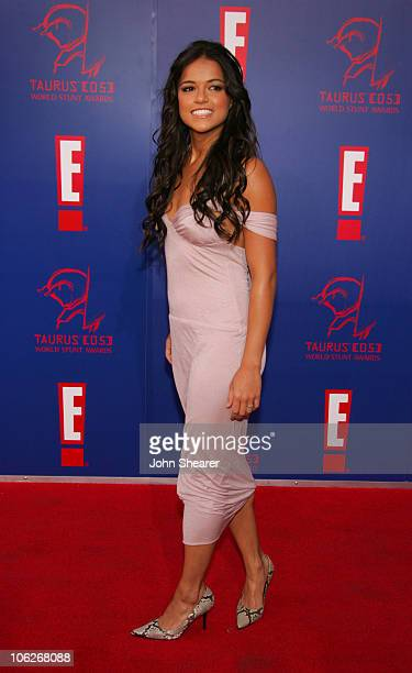 Michelle Rodriguez during 2005 Taurus World Stunt Awards Arrivals in Los Angeles California United States