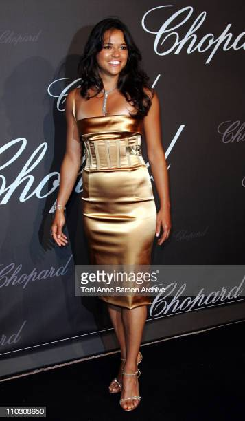 Michelle Rodriguez during 2007 Cannes Film Festival Chopard Trophy Presentation at Roaeraie du Port Canto in Cannes France