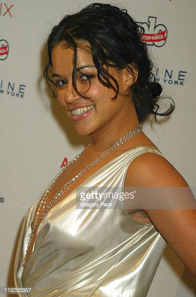 Michelle Rodriguez during 3rd Annual People En Espanol's '50 Most Beautiful' Gala Arrivals at Splashlight Studios in New York City New York United...