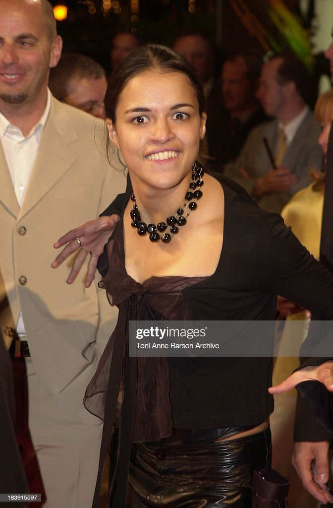 Michelle Rodriguez During Deauville 2001 The Fast And Furious News Photo Getty Images