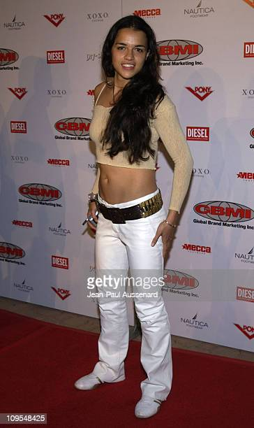 Michelle Rodriguez during GBMI and Pony International Host The ReLaunch of the Pony Collection at The Fess Parker Doubletree Resort in Santa Barbara...