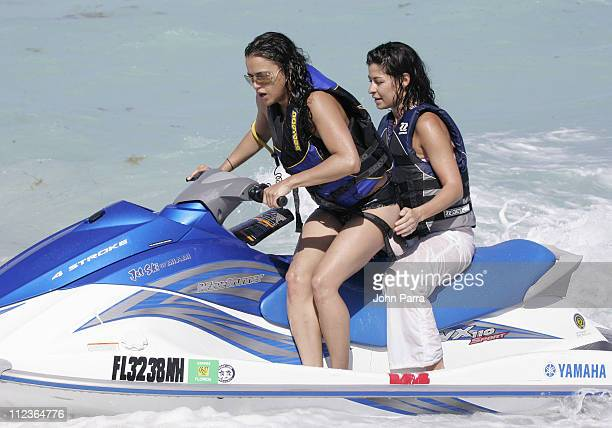 Michelle Rodriguez during Michelle Rodriguez Sighting on South Beach March 29 2007 in Miami Beach FL United States