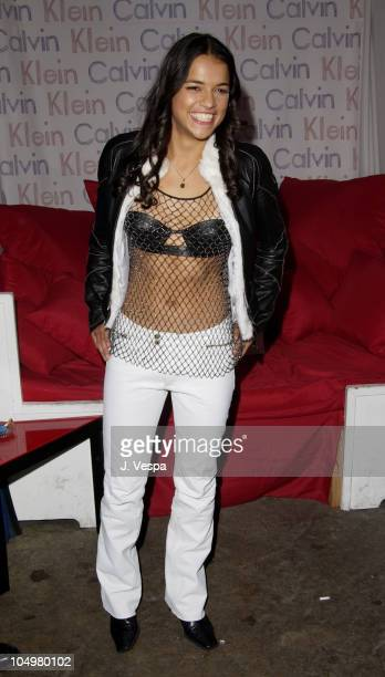 Michelle Rodriguez during 'Resident Evil' Premiere After Party at the GQ Lounge at GQ Lounge in Los Angeles California United States