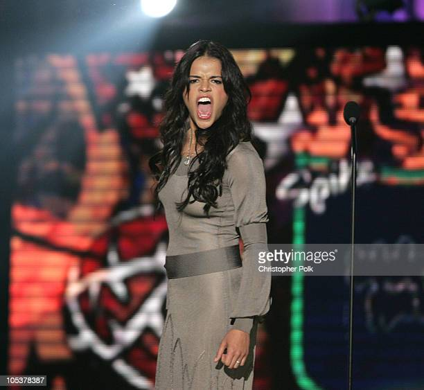 Michelle Rodriguez introduces Game of the Year nominee Halo 2